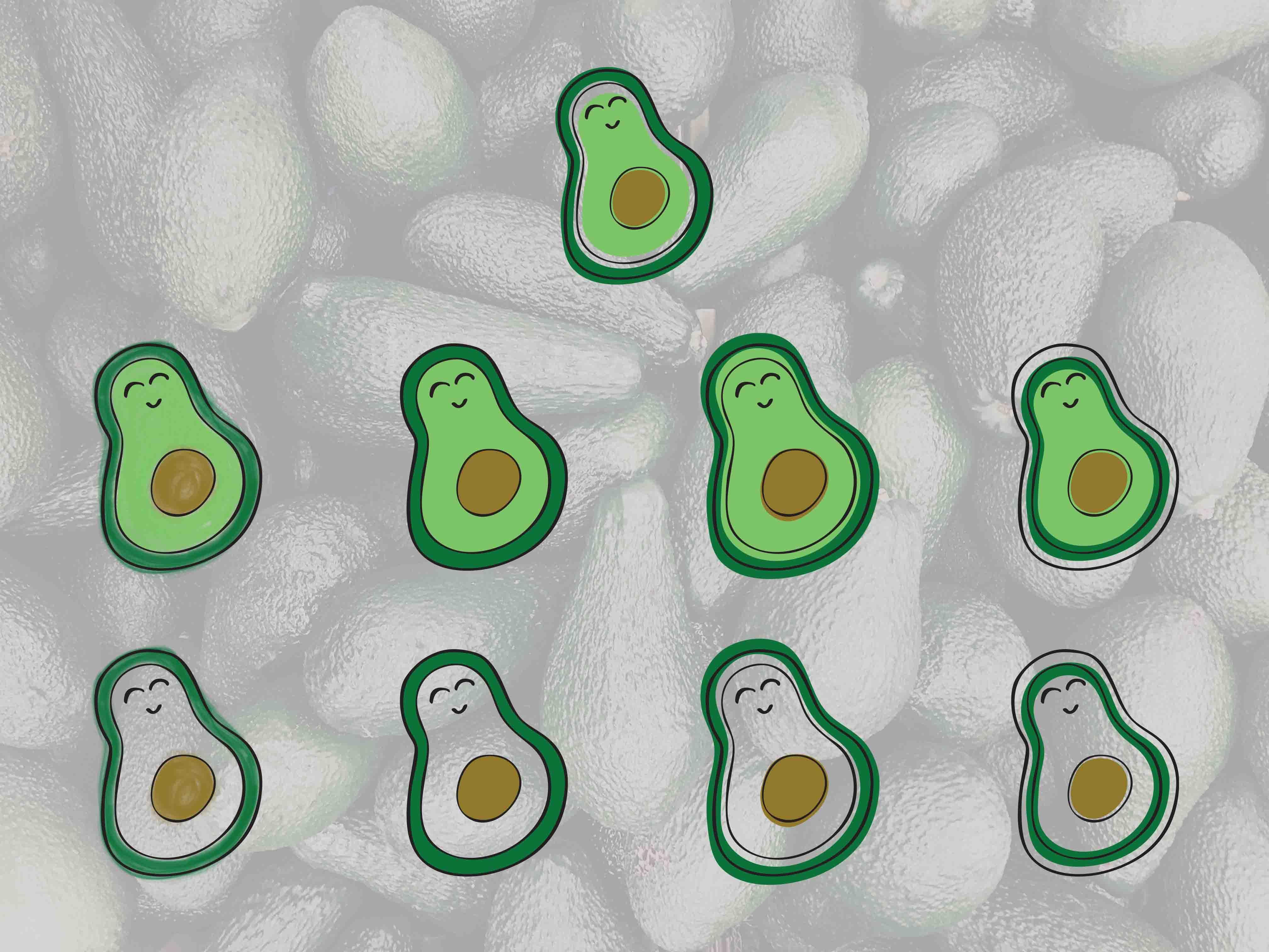 Multiple avocado