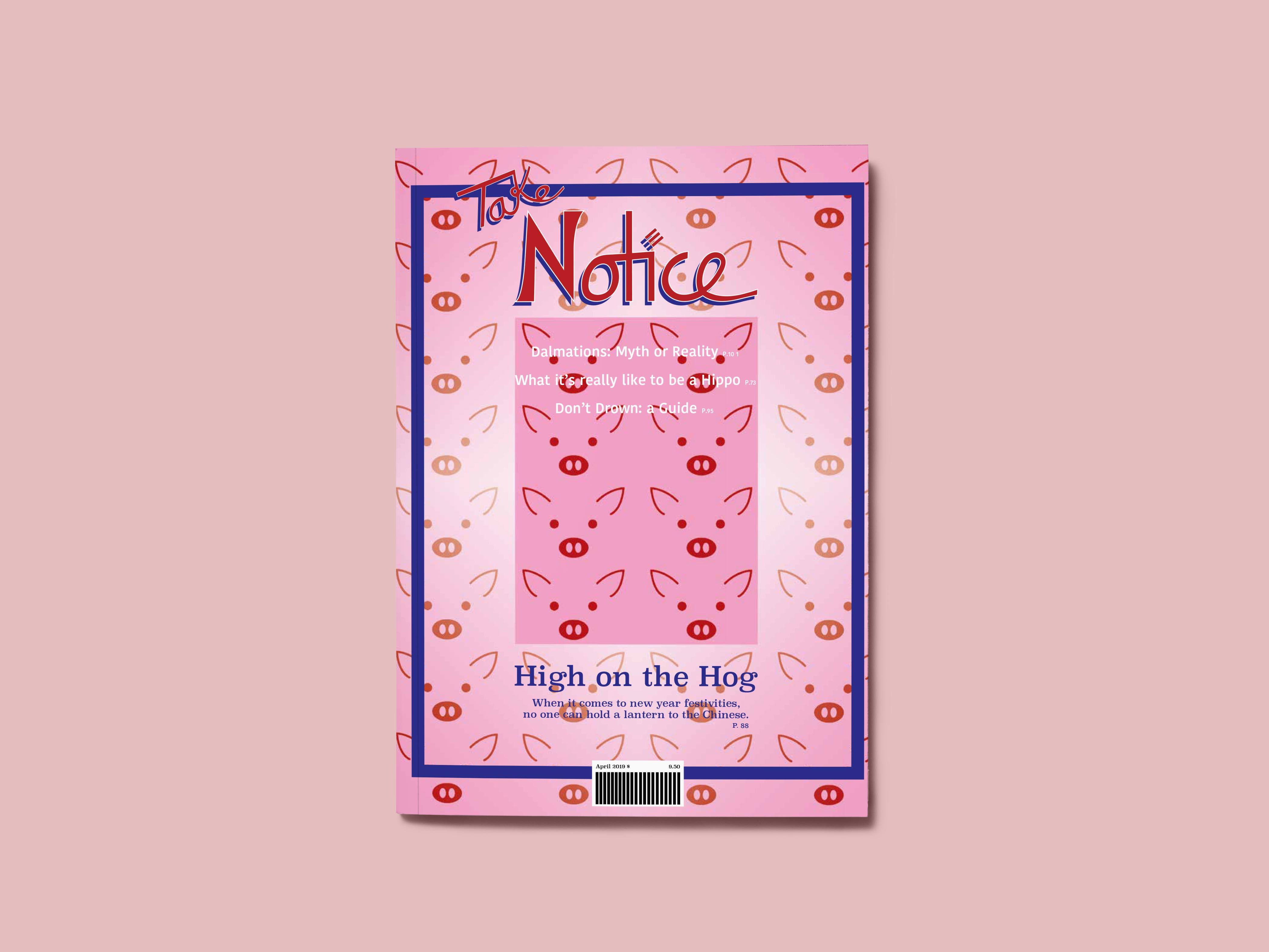 Image of magazine layout
